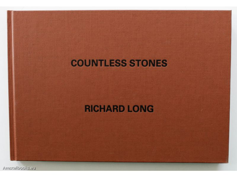Countless Stones: A 21 Day Footpath Walk Central Nepal 1983 Views Looking Forward, In Sequence,by Richard  Long