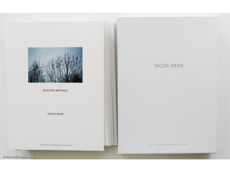 Tacita Dean: Selected writings. 12.10.02 - 21.12.02. W. G. Sebald. The Russian ending. Boots. Complete works and filmography 1991 - 2003. Essays,by Tacita Dean