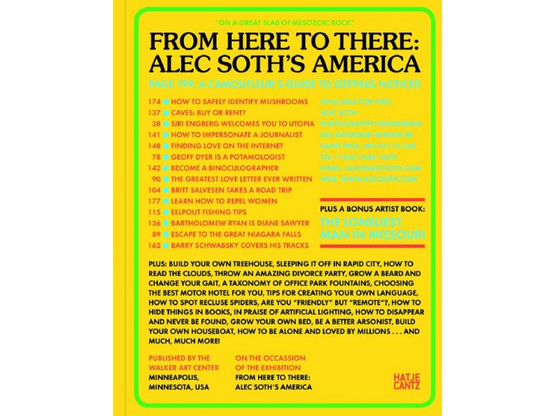 From here to there: Alec Soth's America,by Alec Soth