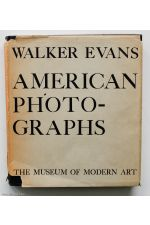 AMERICAN PHOTOGRAPHS,by Walker Evans