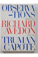 Observations. Photos von Richard Avedon. Text von Truman Capote.,by Richard Avedon / Truman Capote